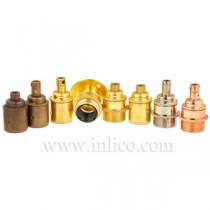 E27 Brass Lampholders
