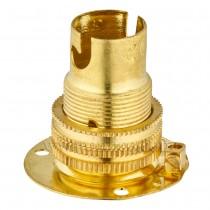 B15 Brass Batten Lampholders