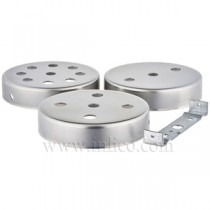 Flat Ceiling Cup - 100mm Multihole