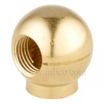 Brass Balls with Collar