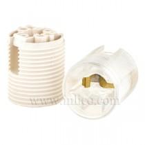 E12 Thermoplastic Lampholder