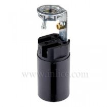 E14 Candle Lampholders - Fixed Bracket 65mm