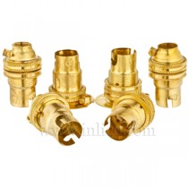 B15 Brass Lampholders
