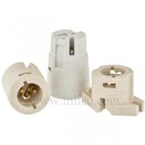 B22 Ceramic Lampholders