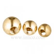 Brass Balls 90 Deg Hole