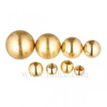 Brass Balls Blind Hole