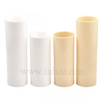 PLASTIC CANDLE TUBE 23mm ID