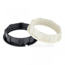 Narrow Lip Shade Rings for E14 Thermoplastic
