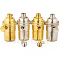 E26  Brass Lampholder