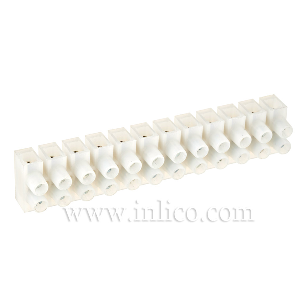 5A 12WAY STRIP CONNECTOR 105 DEG C UL AND VDE APPROVED