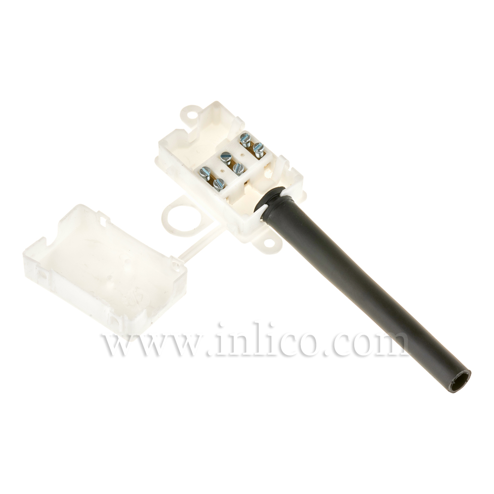 3 WAY INSULATED CONNECTOR BOX + SLEEVE TO STANDARDS CEI60670-22:2005 AND CEI60998-2-1:2002