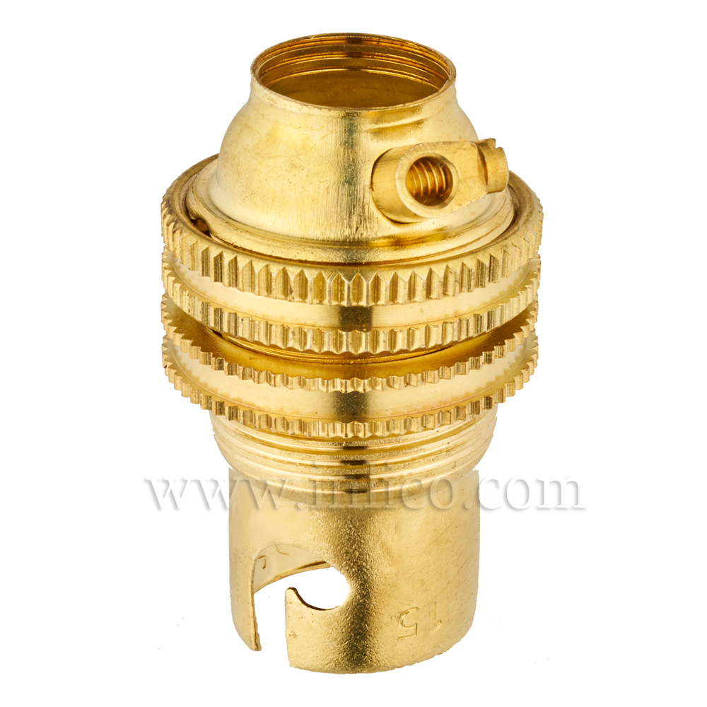 "1/2"" BRASS B15 L/H + S/RING & EARTH TO BSEN 61184:1995 NEMKO CERTIFICATE NO 10092 A016/A"