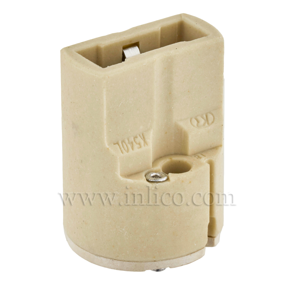 G9 SLIM LINE INSERT (LAMPHOLDER)  18.2MM X 24.6MM - T250 RATED. UL AND ENEC APPROVED