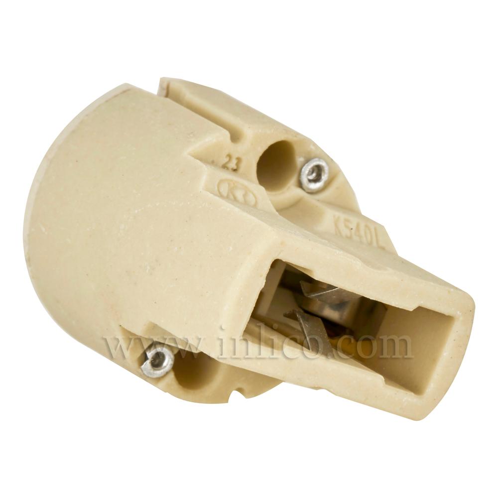 G9 HALOGEN LAMPHOLDER FOR 240V LAMP 2 AMP T270 ENEC APPROVED