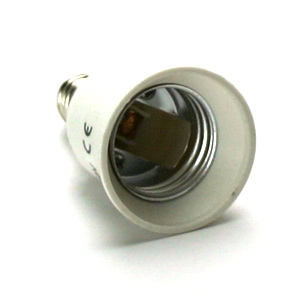 SES TO ES LAMPHOLDER ADAPTOR (E14 TO E27)