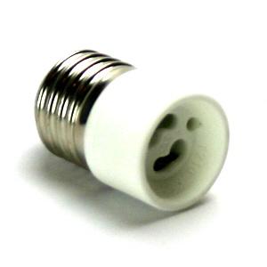 ES TO GU10 LAMPHOLDER ADAPTOR (E27 TO GU10)