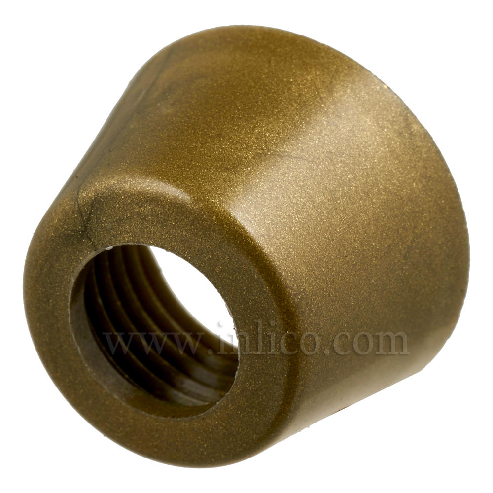 GOLD PLASTIC CAP FOR PRESS SWITCH 63A