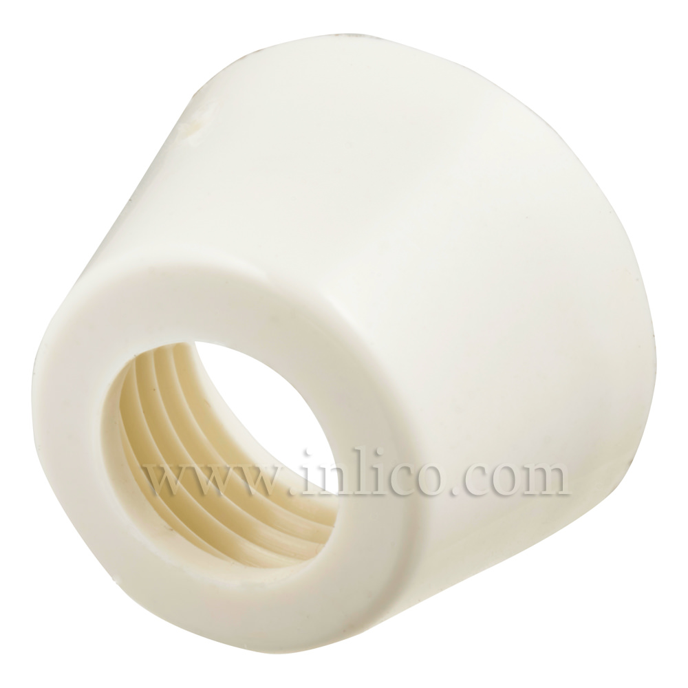 WHITE PLASTIC CAP FOR PRESS SWITCH 63A