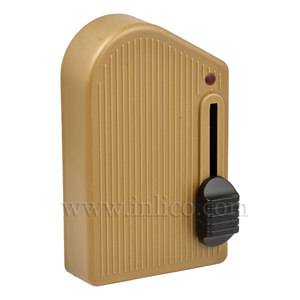 DIMMER FOOTSWITCH GOLD TO STANDARD EN61058-1:2002   FOR LED AND INCANDESCENT LIGHT SOURCES