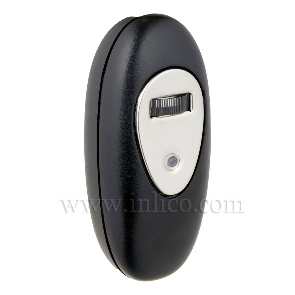 INLINE DIMMER BLACK with ROTARY SWITCH  TO  STANDARD EN61058-1:2002 FOR LED AND INCANDESCENT LIGHT SOURCES