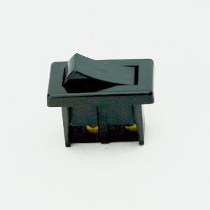 PANEL MOUNTED ROCKER SWITCH BLACK STANDARD EN61058-1:2002