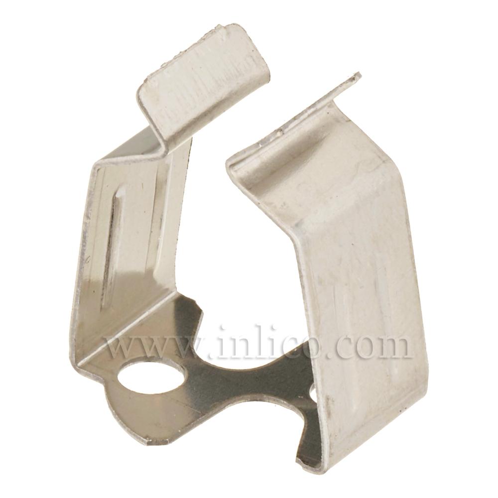 STEEL BRACKET/CLIP L19 X W10MM