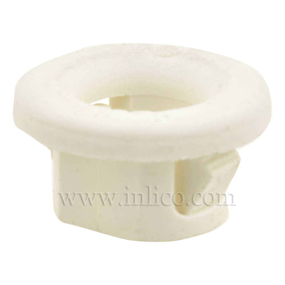 SNAP-LOCK GROMMET WHITE TO FIT 10.5MM HOLE 8MM X 14.5MM