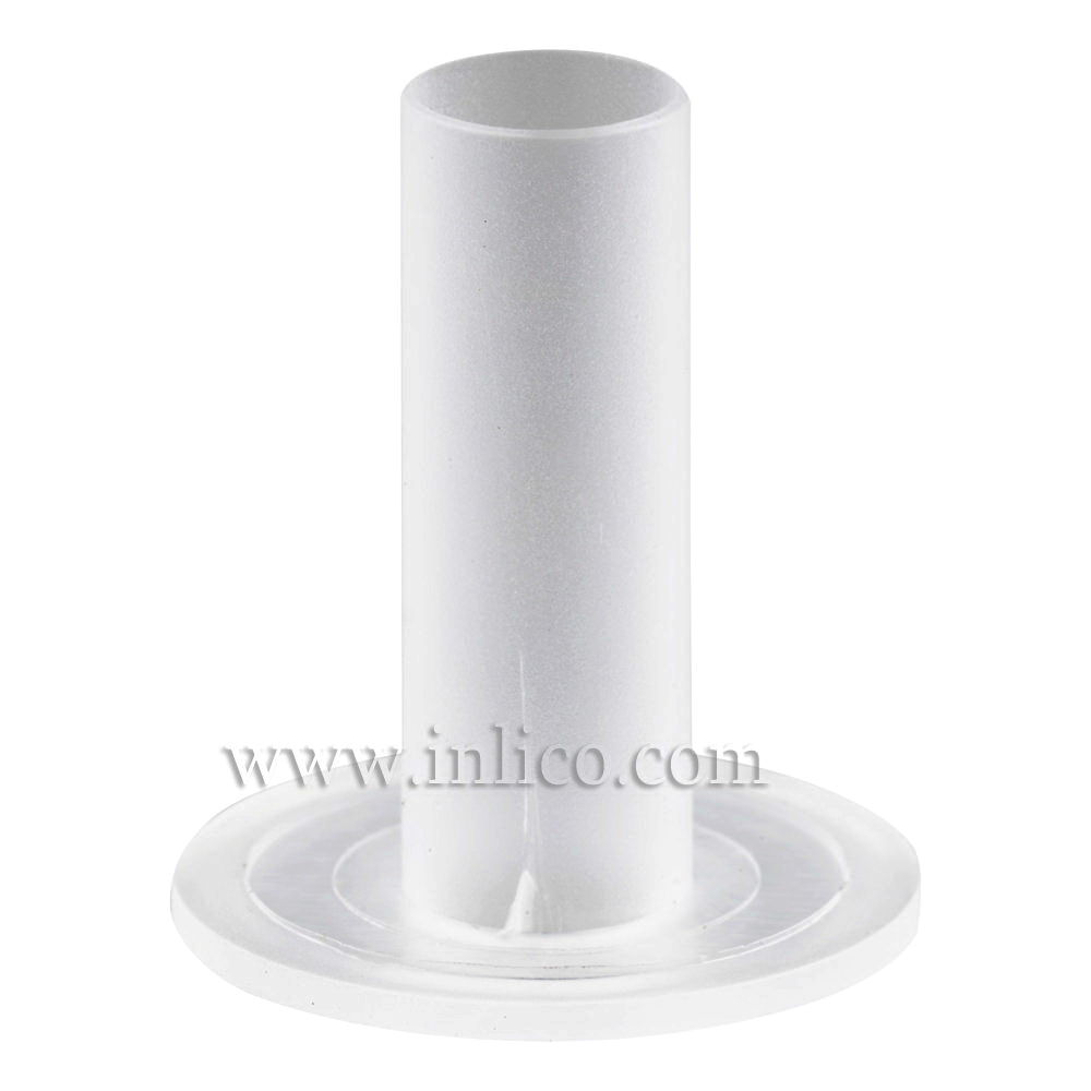 CABLE ISOLATOR FOR E14/B15 LAMPHOLDER 17MM OD X 20MM LONG WHITE