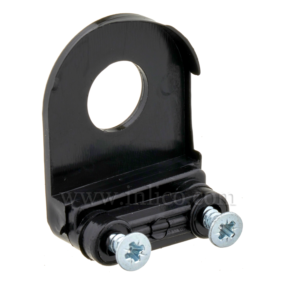 10MM CABLE CLAMP CORD GRIP - BLACK