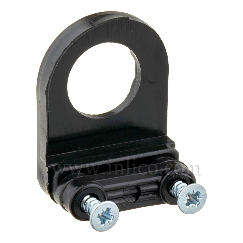 """1/2"""" CABLE CLAMP CORD GRIP - BLACK"""
