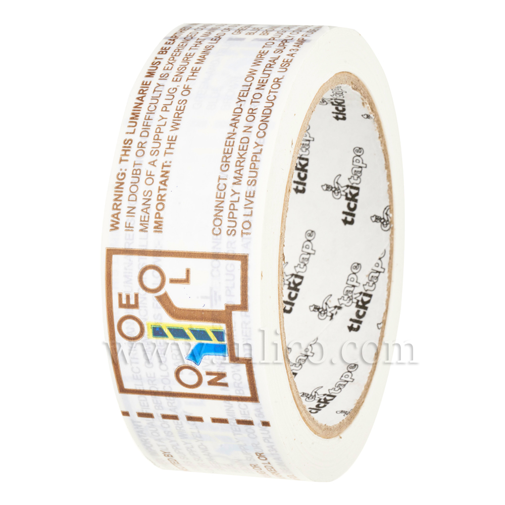 3 CORE WIRING INSTRUCTION TAPE 440 LABELS PER ROLL