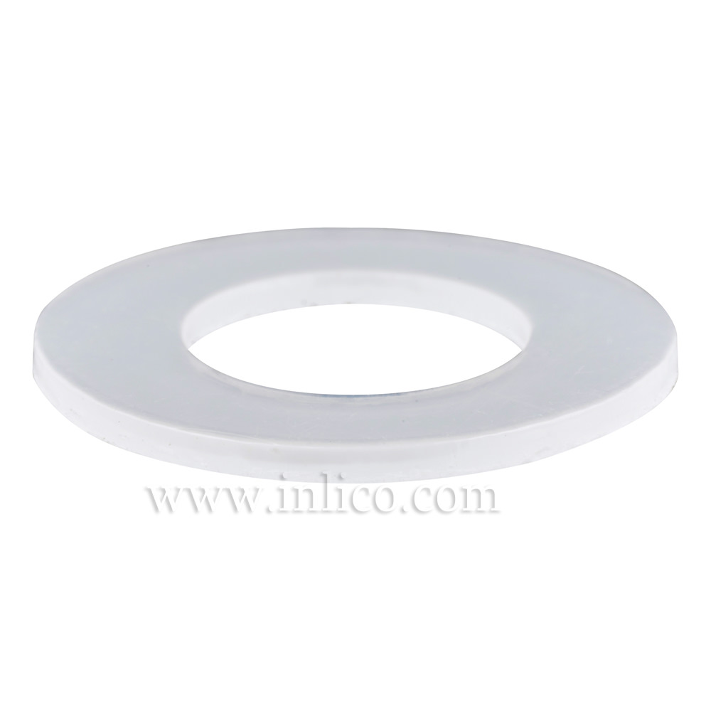 "1/2"" PLASTIC WASHER-13.5MM ID 20MM OD 1.5MM THICK H.R"