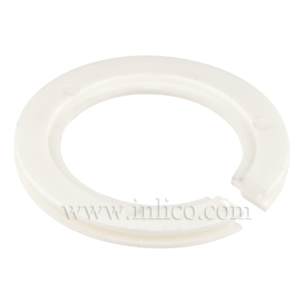 LAMPSHADE ADAPTOR RING CLEAR