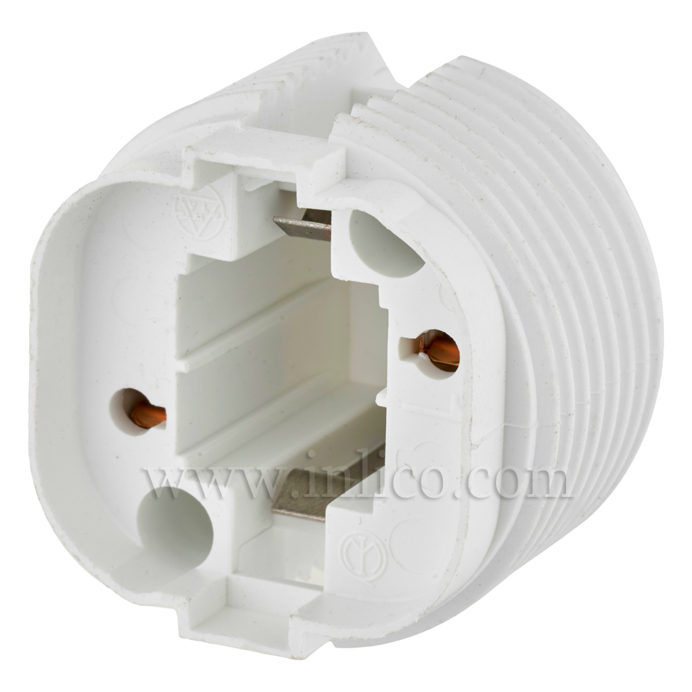 G24 D3 LOW ENERGY LH WHITE FOR 26 WATT  2-PIN COMPACT FLUORESCENT LAMP BOTTOM FIXING OR WITH CLICK FIT CAP FOR 10MM ENTRY