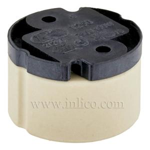GZ10 HALOGEN L/HOLDER FOR 240V HALOGEN LAMP WITH PUSH FIT TERMINALS T250 VDE / ENEC