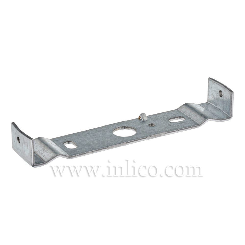 BRACKET FOR 100mm CEILING CUP 6.1008 GALVANIZED STEEL WITH M4 SIDE HOLES