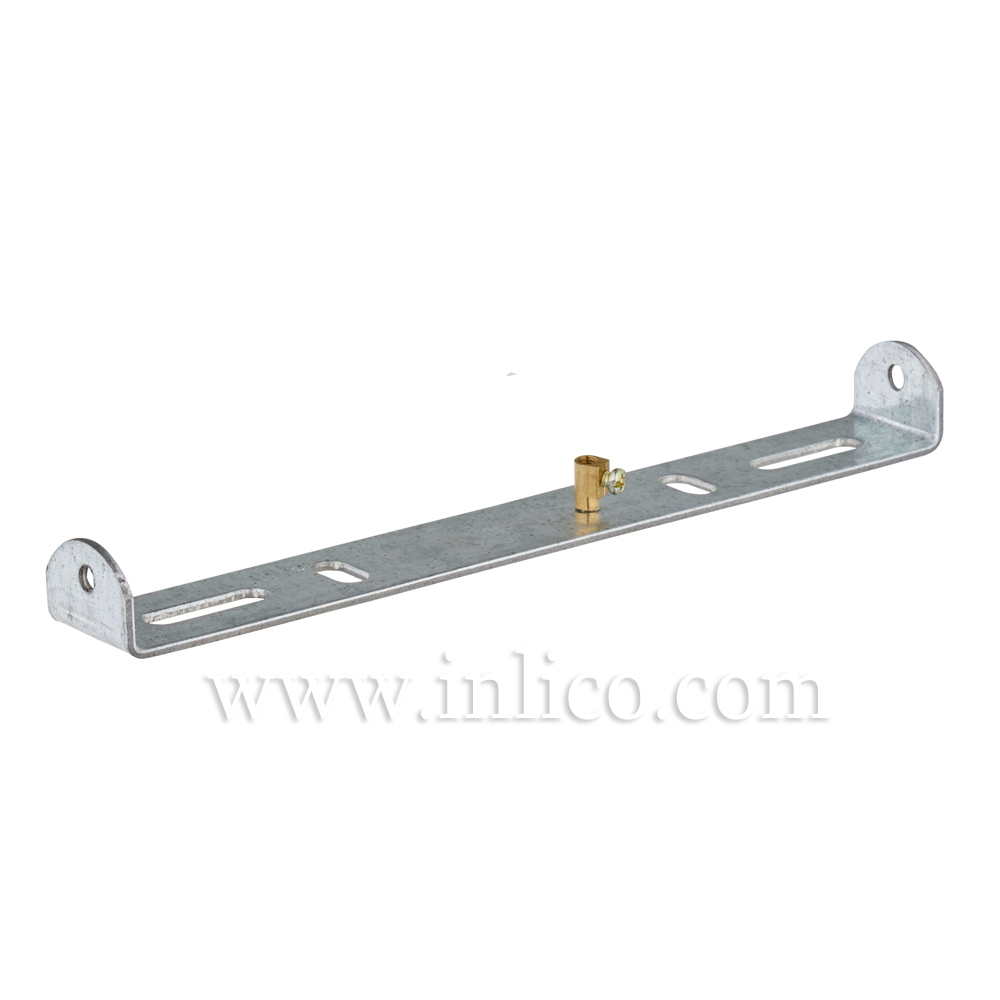 BRACKET FOR 150mm CEILING CUP 6.1009/150MM GALVANIZED STEEL WITH M4 SIDE HOLES AND EARTH TERMINAL