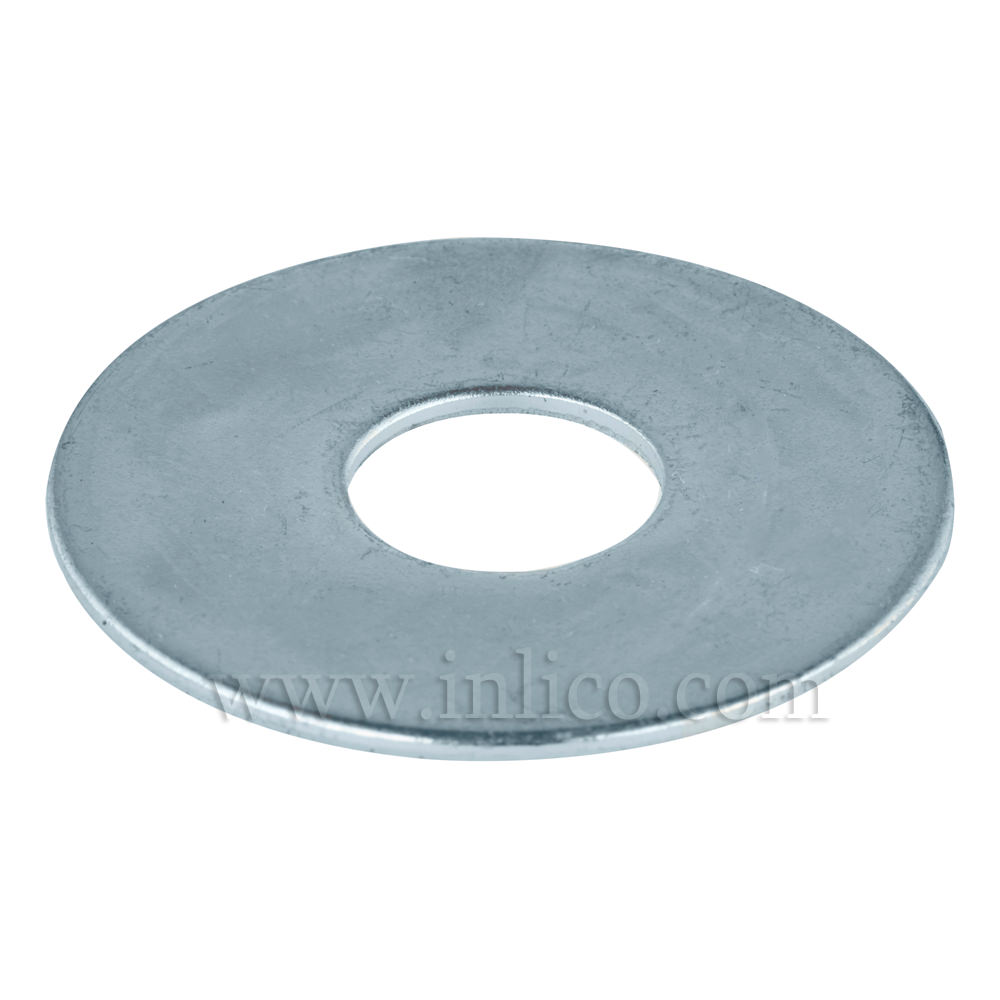 10 X 25MM STEEL WASHER ZINC PLATED
