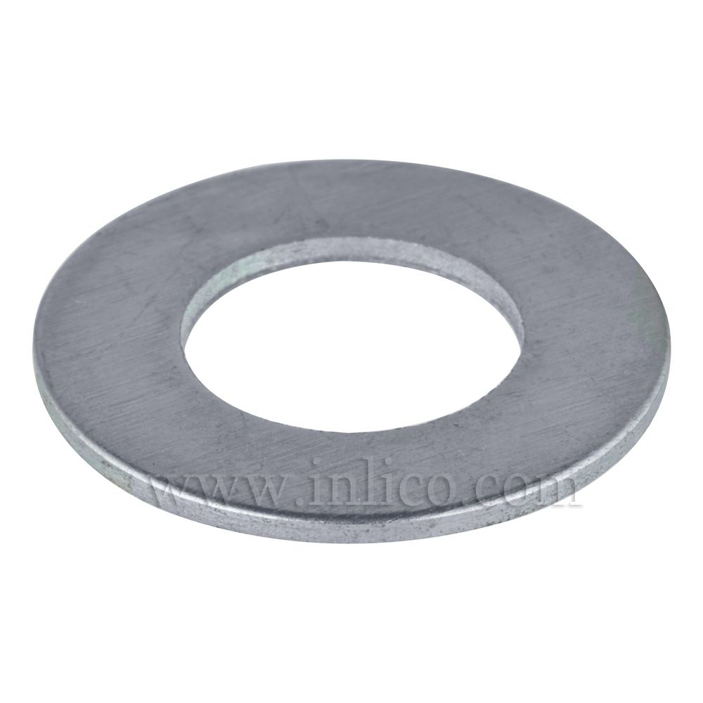 32MM X 1MM THICK STEEL/ZINC PLATED WASHER 10.5MM HOLE