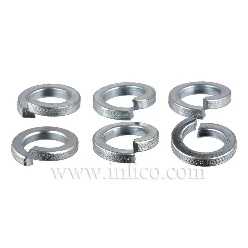 "1/2"" SPLIT WASHER ZINC PLATED"