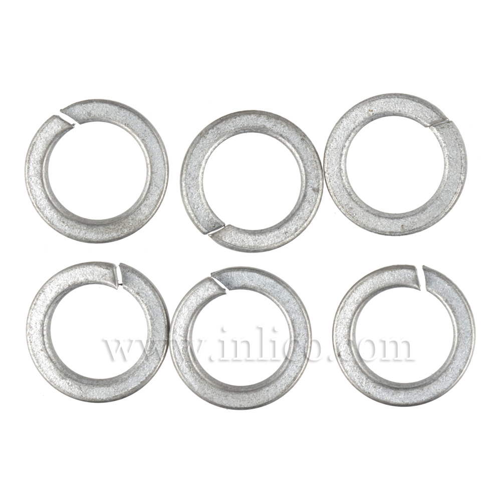 10MM SPLIT SPRING WASHER ZINC PLATED