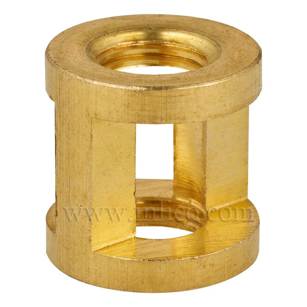 M10 X M10 CAST BRASS HICKEY/COUPLER