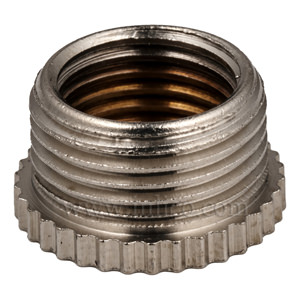 "NICKEL REDUCER 1/2"" MALE X 10MM FEMALE"