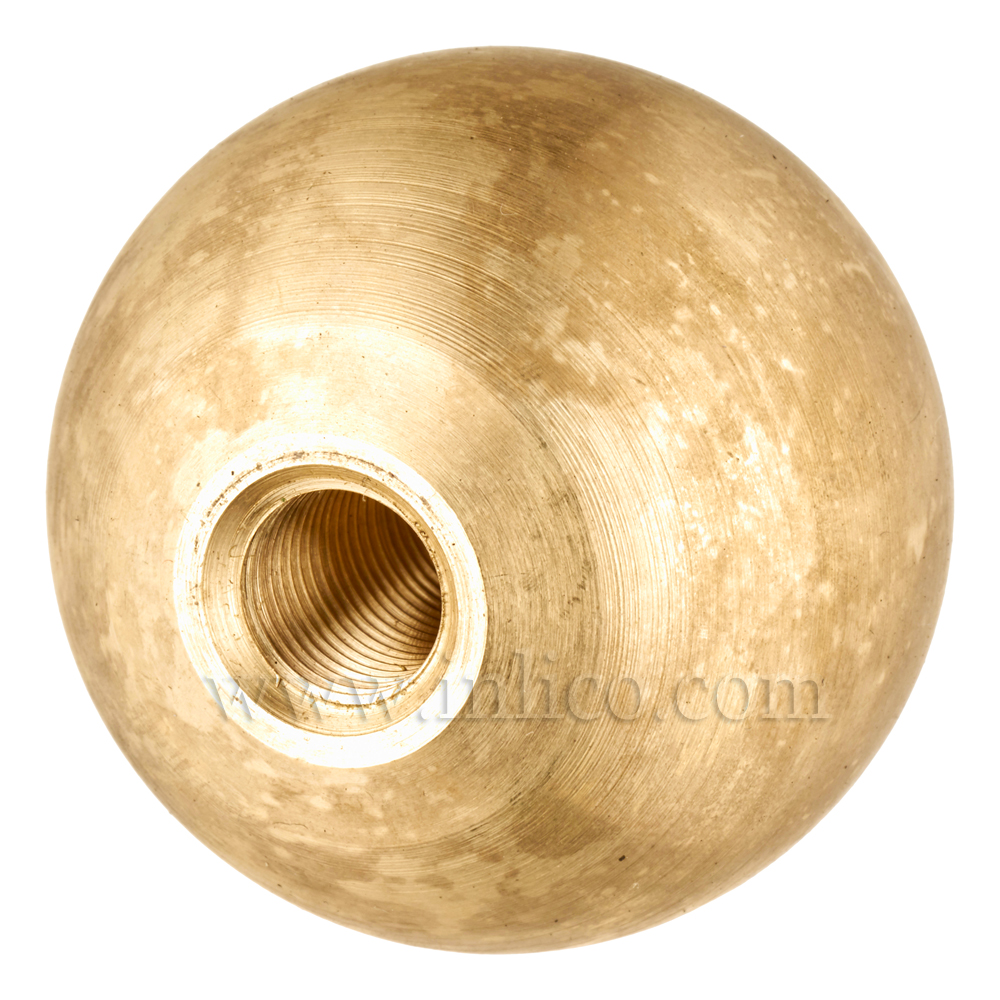 10MM BRASS ARM BALL 40MM BLIND (SF40)