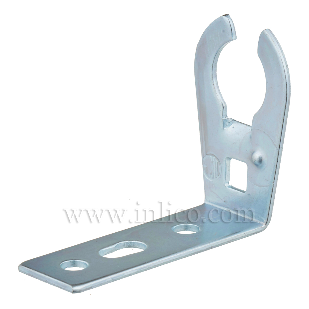 90 DEG STEEL BRACKET FOR E14/B15 L/H 28MM X 36MM