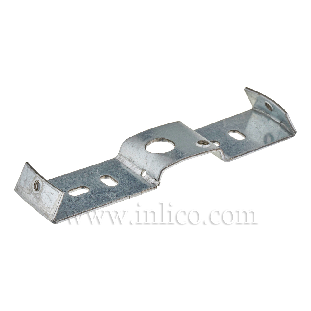 FIXING BRACKET FOR CEILING CUP 6.995 GALVANIZED STEEL WITH M4 SIDE HOLES