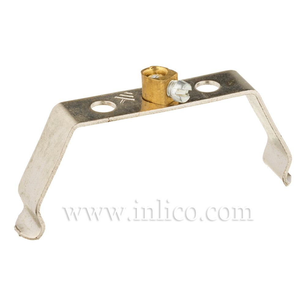 METAL BRACKET FOR PORC.L/H 18MM X 47MM