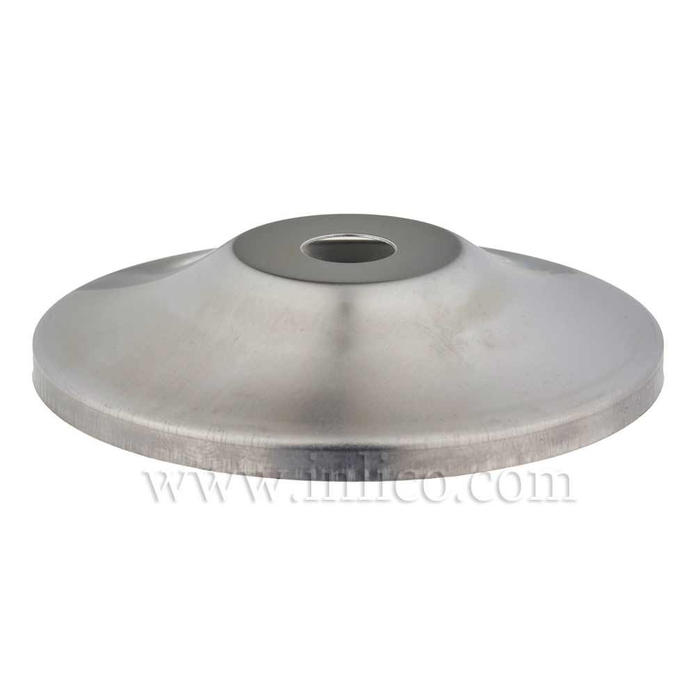 80MM RAW STEEL PAGODA CAP 10.5MM CENTRE HOLE