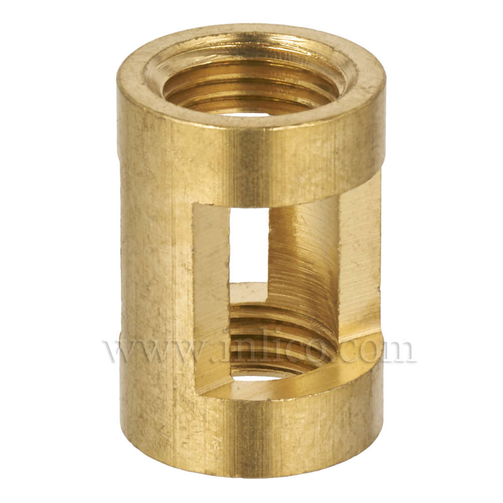 BRASS/NATURAL HICKEY 20MM X 14MM M10 X M10