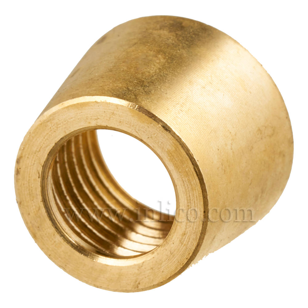 BEZEL FOR 63A PRESS SWITCH RAW BRASS